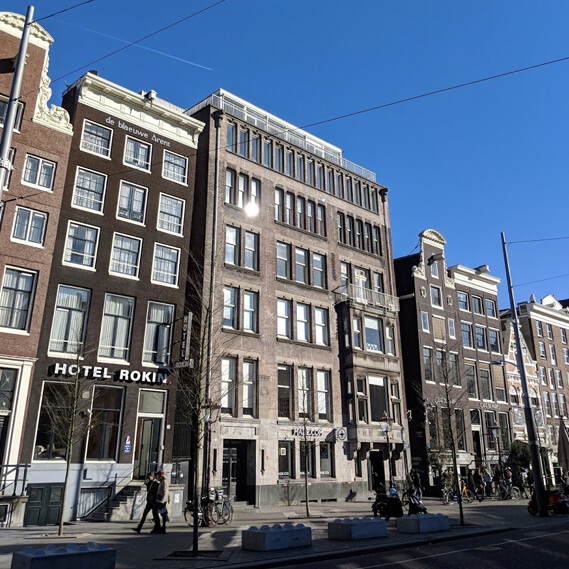 Our creative development studio is located in the heart of Amsterdam