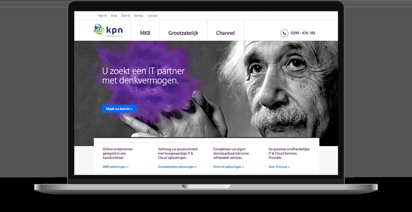 KPN InternedServices Drupal frontend design